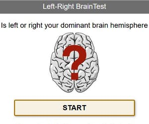 Brain Test Left-Right Brain Test