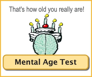 Mental Age My Mental Age Test